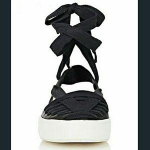 DEREK LAM 10 CROSBY Ankle Wrap Sneaker